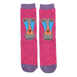 Miss Sparrow Baboon Hot Pink (One Size)