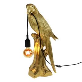 Vogellamp Timmy goud