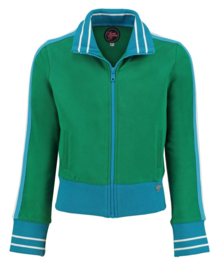 Tante Betsy  Sporty Jacket Girl Solid Green
