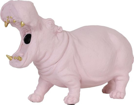 Nijlpaard Tafellamp Roze