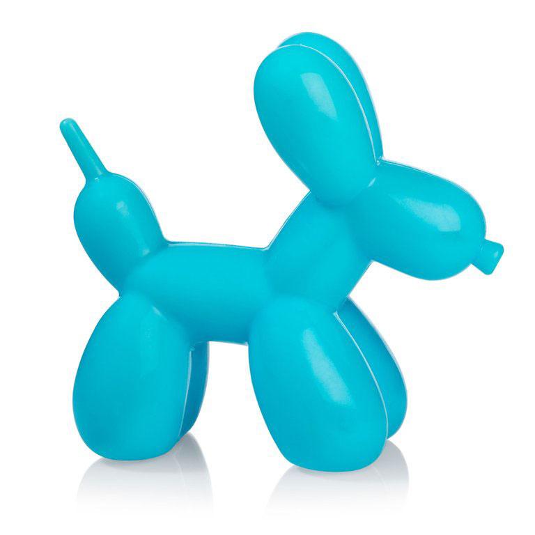 Balloon hond nachtlampje blauw