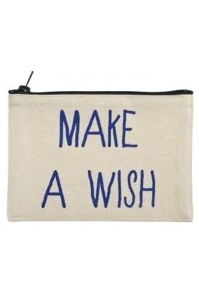 Katoenen etui 'make a wish'