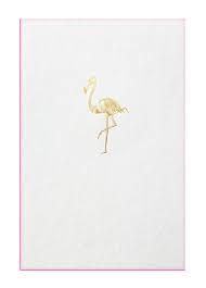 Papette flamingo XXL card