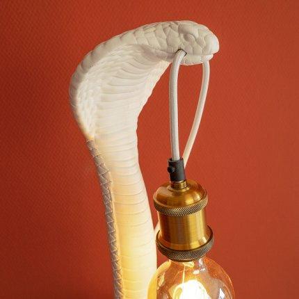 Lamp Cobra wit Cleo