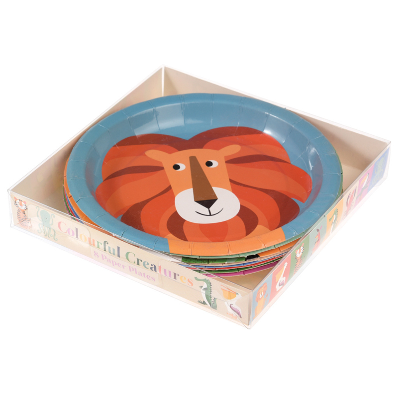 Kartonnen borden  jungle dieren