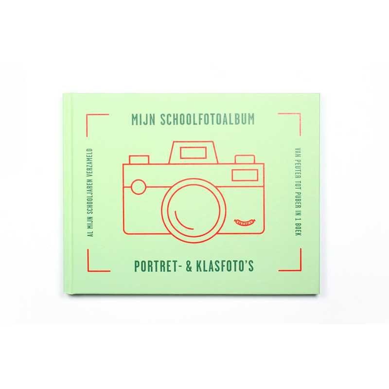 Stratier Schoolfotoalbum groen