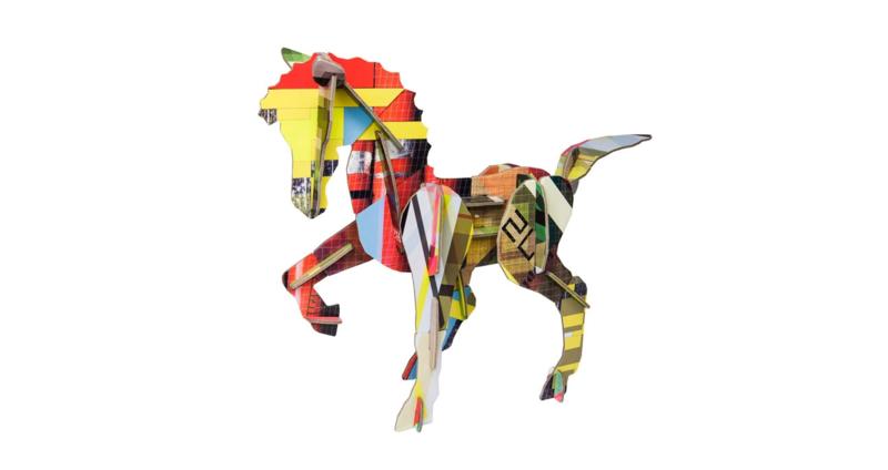 Studio Roof 3D totem paard