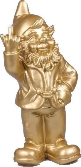 Gouden kabouter