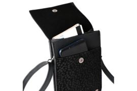 Zwart panter telefoontasje Safari