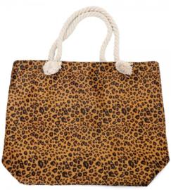 Beahbag soft leopard Brown
