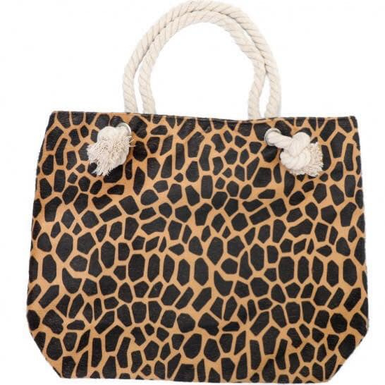 Beahbag soft leopard Brown