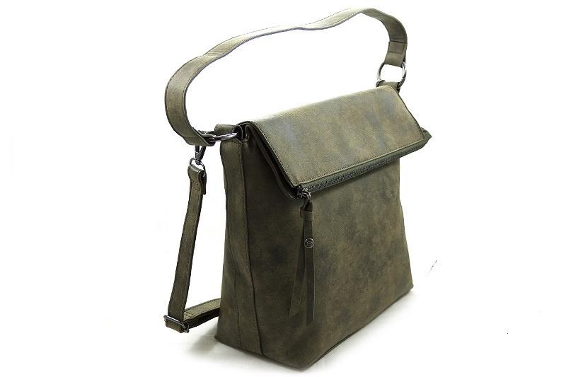 Groene schoudertas/shopper Cork