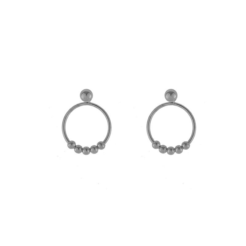 Oorbellen Tiny Rounds zilver