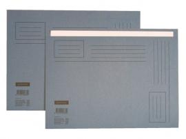 Vouwmap Folio Blauw 510023