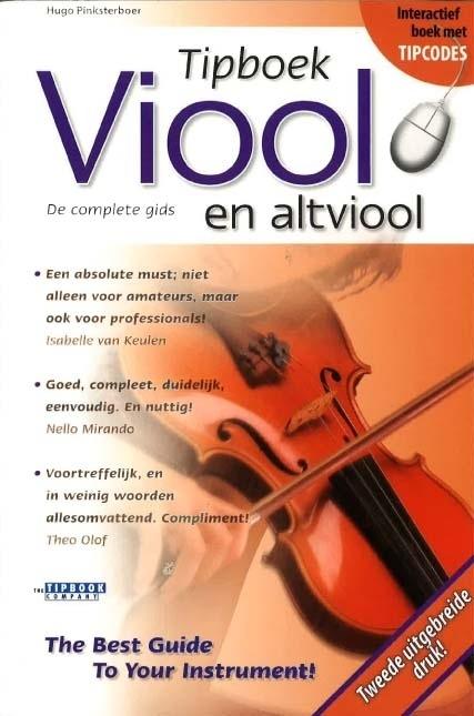 Hugo Pinksterboer - Tipboek viool en altviool