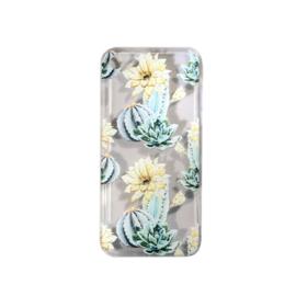 """iphone 7 hoesje  """"cactus met gele bloem"""" **LAATSTE STUKS**"""