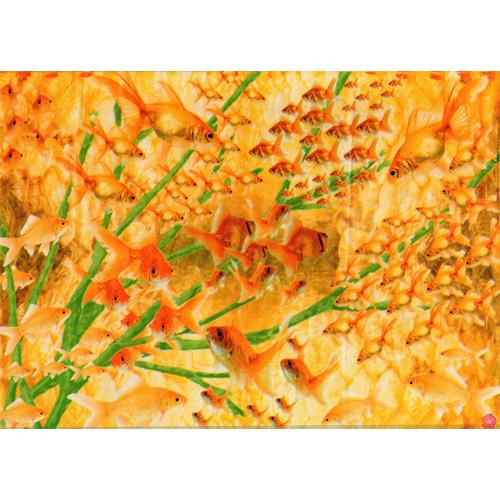 Lazoe decoratiepapier GOUDVISSEN