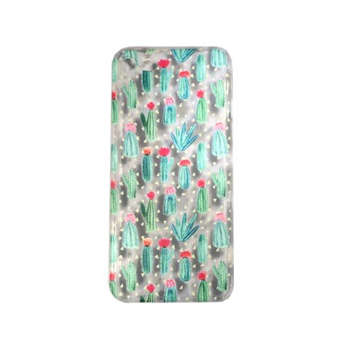 """iphone 7 hoesje  """"cactussen met roze bloem"""" **LAATSTE STUKS**"""