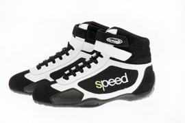 Speed karting schoenen ZWART-WIT