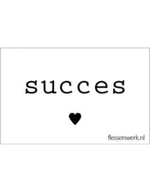 PVC Kaartje | Succes