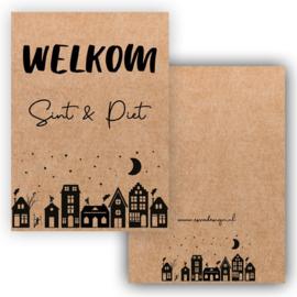 Kaartje | Welkom Sint & Piet