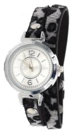 Horloge Panter | Grijs