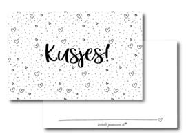 Minikaartje | Kusjes!