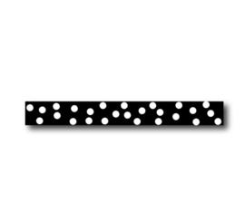 Lint | Dots zwart