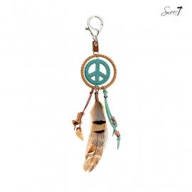 Tas-/Sleutelhanger Peace