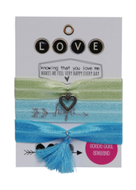 Rio Love | Green Mint set (3 stuks)