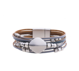 Armband Grijs 48