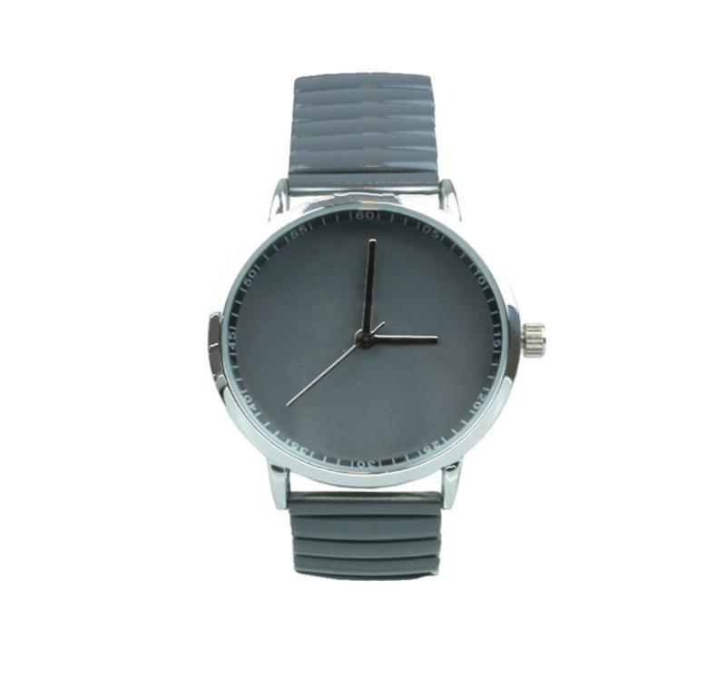Horloge Candy   Donkergrijs