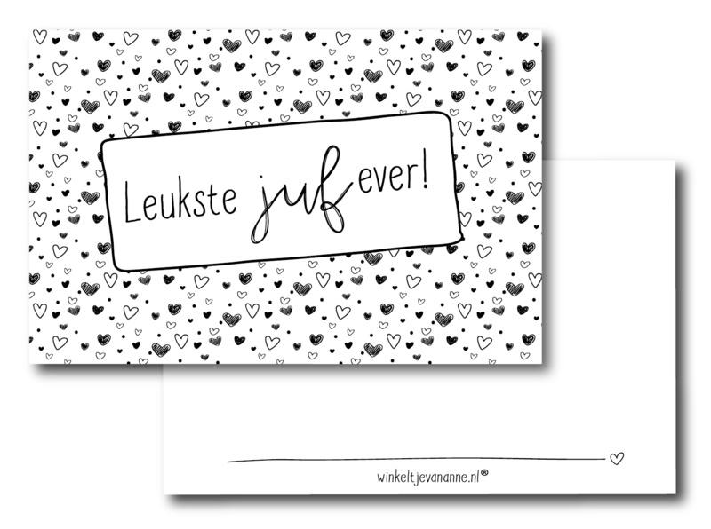 Minikaartje   Leukste juf ever!