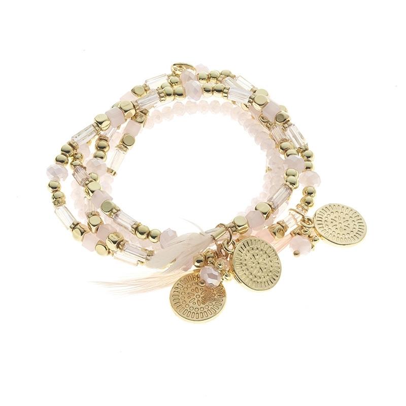 BIBA Armband/ Ketting Pink