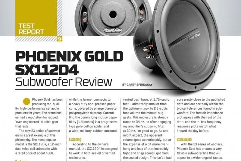 Phoenix Gold SX112D4