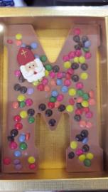 Luxe Chocolade Smartie Letter (Melk)
