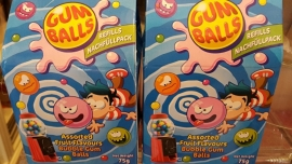Kauwgomballen autmaatje (Navulling)
