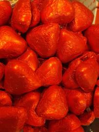 Chocolade Hartjes Rood