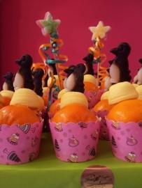 Combi-taart Fruit/Snoep