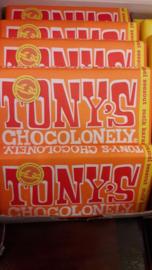 Tony's Chocolonely (melk/zeezout/karamel)