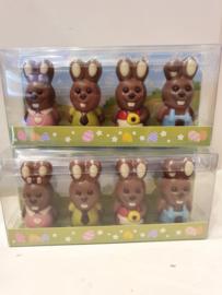 Lieve Chocolade Mini Haajes (4 stuks)