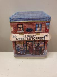 Kerstblik Sweets & Toffees (klein)