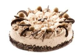 Chocolade Slagroom Taart (6-100 personen)
