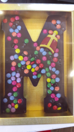 Luxe Chocolade Smartie Letter (Puur)
