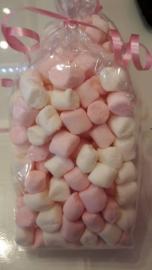 Mini Marshmallow Roze/Wit