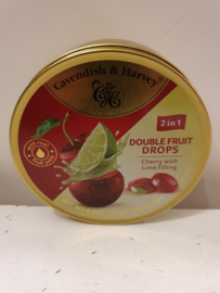 Nostalgisch Blikje Zuurtjes (Kersen/Limoen)