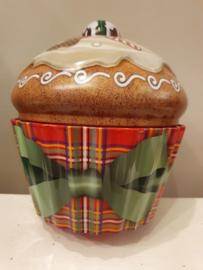 Kerstblik Cupe Cake (groot)