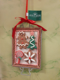 Kerstboomhanger Ginger Bread Cookie Bakblik