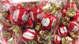 Kerstman Chocolade Bollen