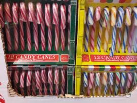 Candy Canes voor in de Boom Roze/Wit
